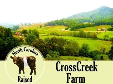 Cross Creek Farm, Sandy Mush, NC Logo